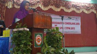 Majlis Anugerah Perkhidmatan Cemerlang 2015 & Peningkatan Prestasi SPM / STPM 2015