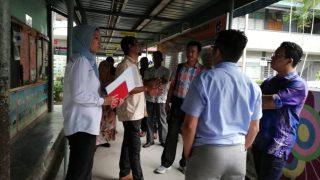 Lawatan KPM dari Unit Pembangunan