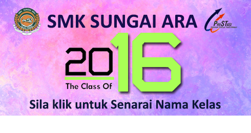 Senarai kelas 2016