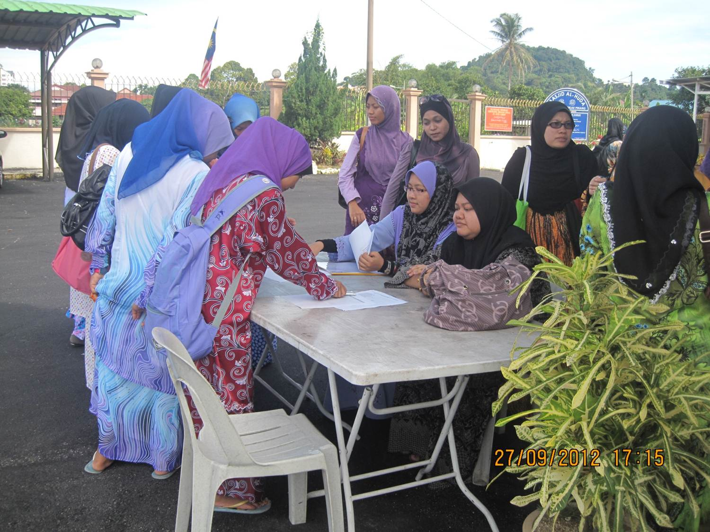 Majlis Bacaan Yasin untuk pelajar PMR, SPM dan STPM