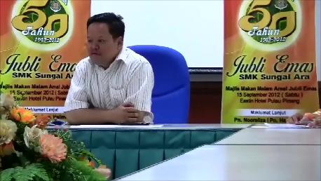 Sidang Media Majlis Makan Malam Jubli Emas
